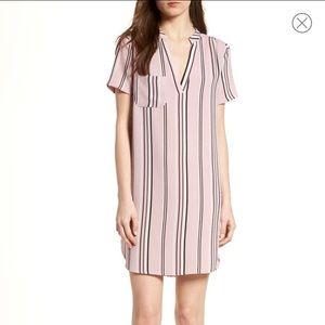 LUSH Hailey Crepe Shift Dress